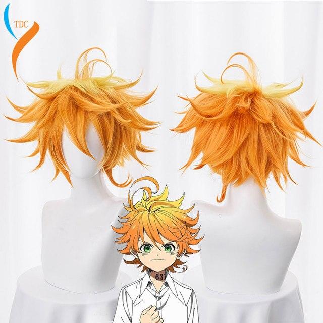 Big Offer #8f76 2019 Emma Cosplay Wig Anime Yakusoku No