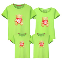 Heat Sell New Pattern Spring Clothes A Summer Parenting Dress Family Dress Mother And Daughter T