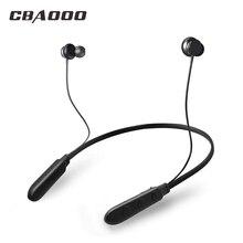 CBAOOO спортивные Bluetooth наушники беспроводные наушники с микрофоном шумоподавление бас Bluetooth гарнитура для мобильного телефона