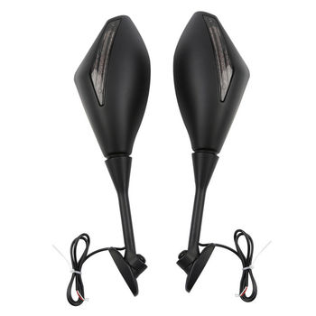Led Turn Signals Rearview Mirror For Honda CBR600RR CBR1000RR CBR250R CBR500R CBR300R 2