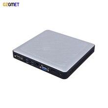 GZGMET Quad Core Fanless 2.41GHz Mini Desktop Pc Intel Celeron J1900