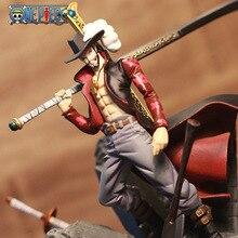 15CM Anime One Piece Dracule Mihawk PVC Action Figure model Toy A303