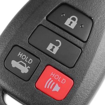 Chiave telecomando per Toyota CAMRY 2012 2013 2014 2015 Corolla 2014 2015 With TOY43 Blade 1