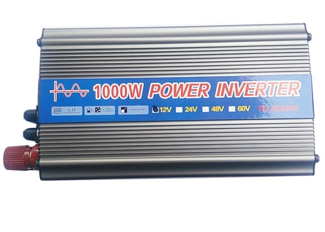New 1000W Modified Sine Wave Inverter Car Power Inverter DC12V to AC Converter 220 v USB Car Charger Cigarette lighter