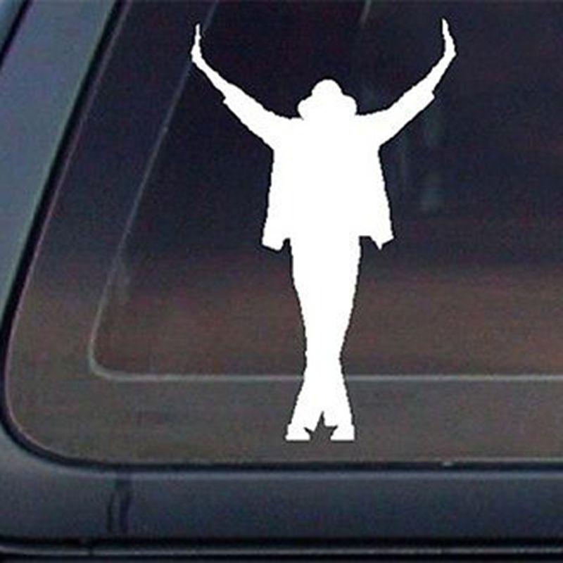 Mj Michael Jackson Silhouette Dieser Ist Es Auto Aufkleber