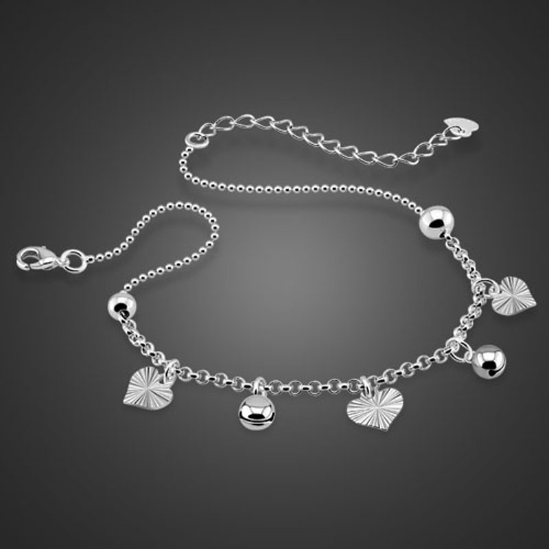 dp amazon sterling co bracelet billie jo charmed silver jangle ankle uk bell anklet jingle jewellery