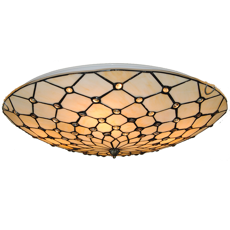 20 Classic Tiffany Ceiling Lamp Retro European Stained Glass Handmade Hanging Light Bedroom Dining Room Fixtures Lighting CL278 16 retro european style tiffany stained glass inverted pendant lamp vintage hanging light kitchen dining room fixtures pl802