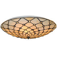 20 Classic Tiffany Ceiling Lamp Retro European Stained Glass Handmade Hanging Light Bedroom Dining Room Fixtures Lighting CL278