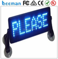 Free Leeman scrolling led moving message sign board/bus led text sign 7 x 35 pixels