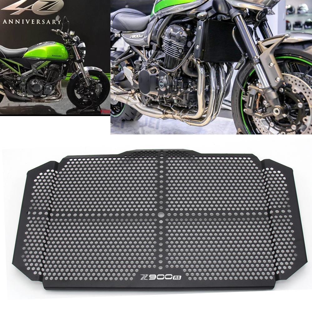Motorcycle Radiator Grille Guard Cover Protector Cover For <font><b>Kawasaki</b></font> <font><b>Z900RS</b></font> Z900 Z 900 RS 2017 2018 Motorcycle <font><b>Accessories</b></font> <font><b>Z900RS</b></font> image