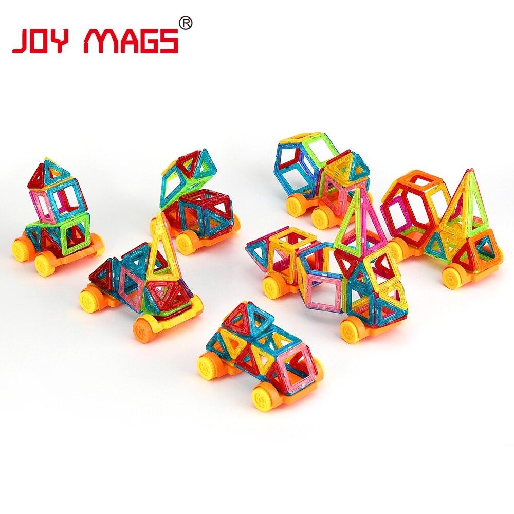 JOY MAGS Мини Магнитті Дизайнер 90/110 / 158Pcs - Дизайнерлер мен құрылыс ойыншықтары - фото 4