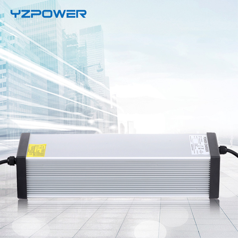 YZPOWER 116V 14A 13A 12A 11A 10A зарядное устройство для 96V свинцово-кислотной батареи