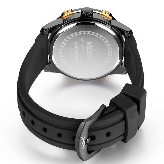 MEGIR Men's Casual Watch Waterproof  Military Sport Watch Men Jewelry Accessories