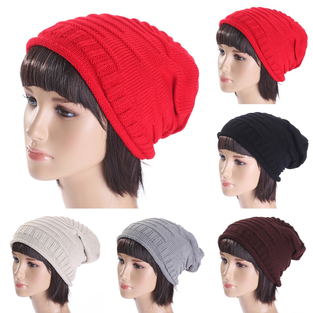 Casual Winter Unisex Warm Fall   Skullies     Beanie   Soft Knit 2018 Hat Warm Hip-hop   Beanie   Solid Cap for Man & Woman