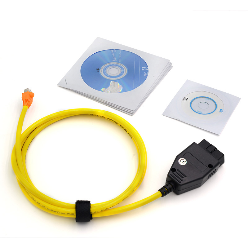 Prix pour Pour BMW ENET Interface Câble E-SYS ICOM Codage F-Série Pour BMW ENET (Ethernet à OBD) Interface Câble E-SYS ICOM Cod