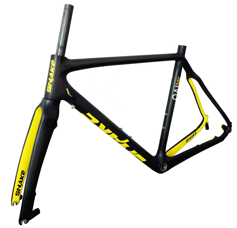 Carbon Bicycle Matt Carbon Cyclocross Frame Carbon Road Frame cadre ...