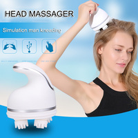 Octopus Electric Head Massager Roller Kneading Neck Eye Rechargeable Massage Machine Physiotherapy SN Hot