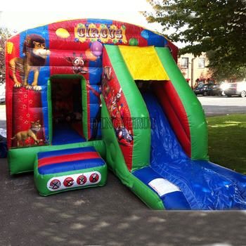 цена на Jumper Trampoline Bounce House Inflatable Bouncer  Commercial Bouncy Castle Inflatable jumping Castle