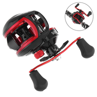 18+1BB High Speed 8.1:1 Fishing Bait Casting Reel Braking Force 10KG / 22LB Fishing Reels with Right Left Hand Optional