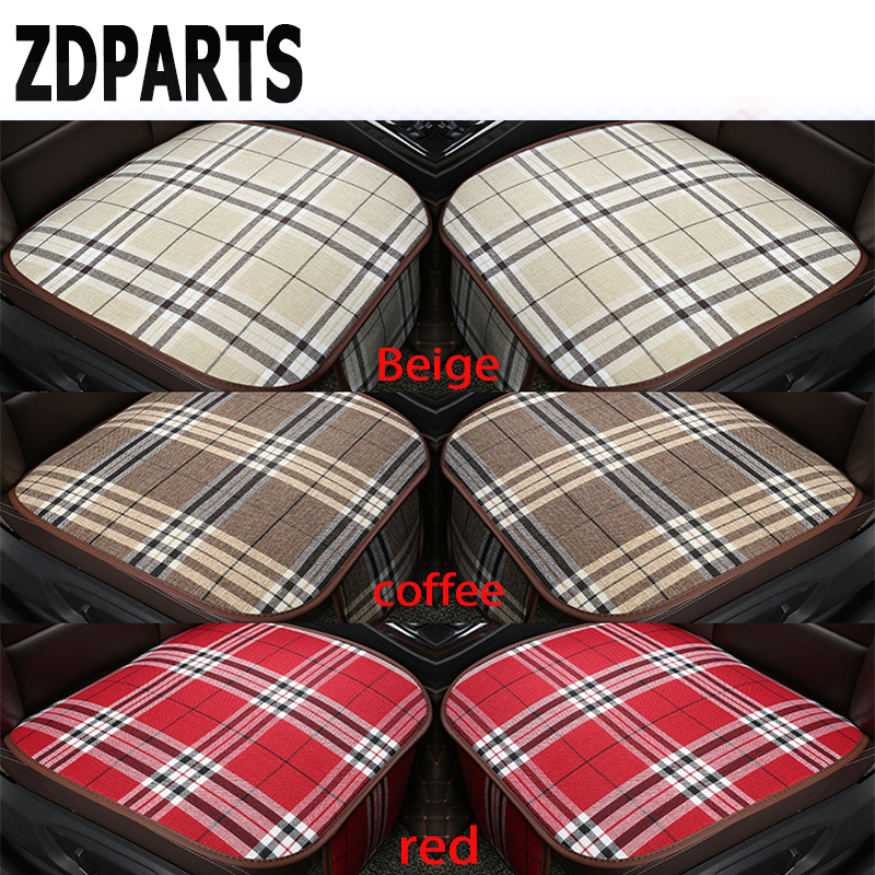 ZDPARTS Car Styling Seat Covers Non-slip Mat Grid Cushion For Ford Focus 2 3 Fiesta Mondeo MK Chevrolet Cruze Aveo Kia Rio Ceed