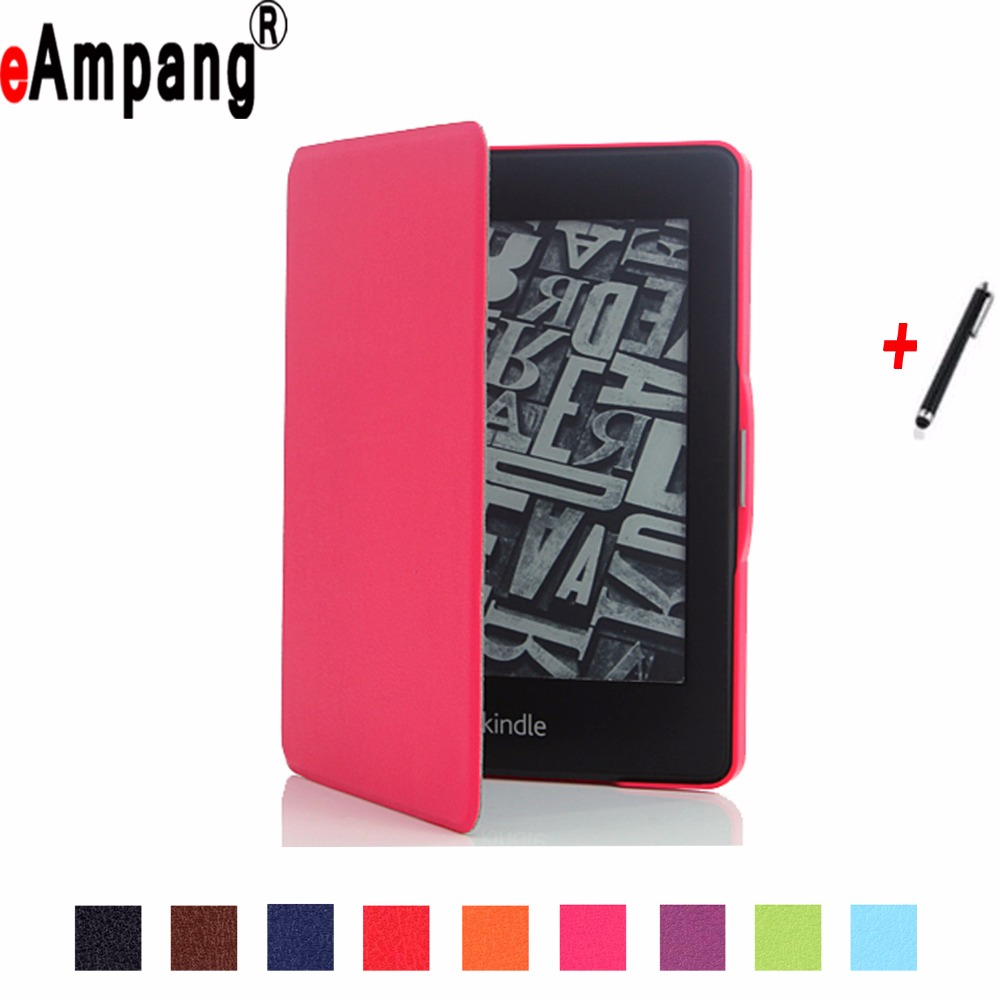 Case For Amazon Kindle Paperwhite Pu Leather Ultra Slim Light Magnet Sleep Wake Up Smart Cover Case for Amazon Kindle Paperwhite new cover for amazon kindle paperwhite slim pu flip leather case cover wake sleep function with pen high quality