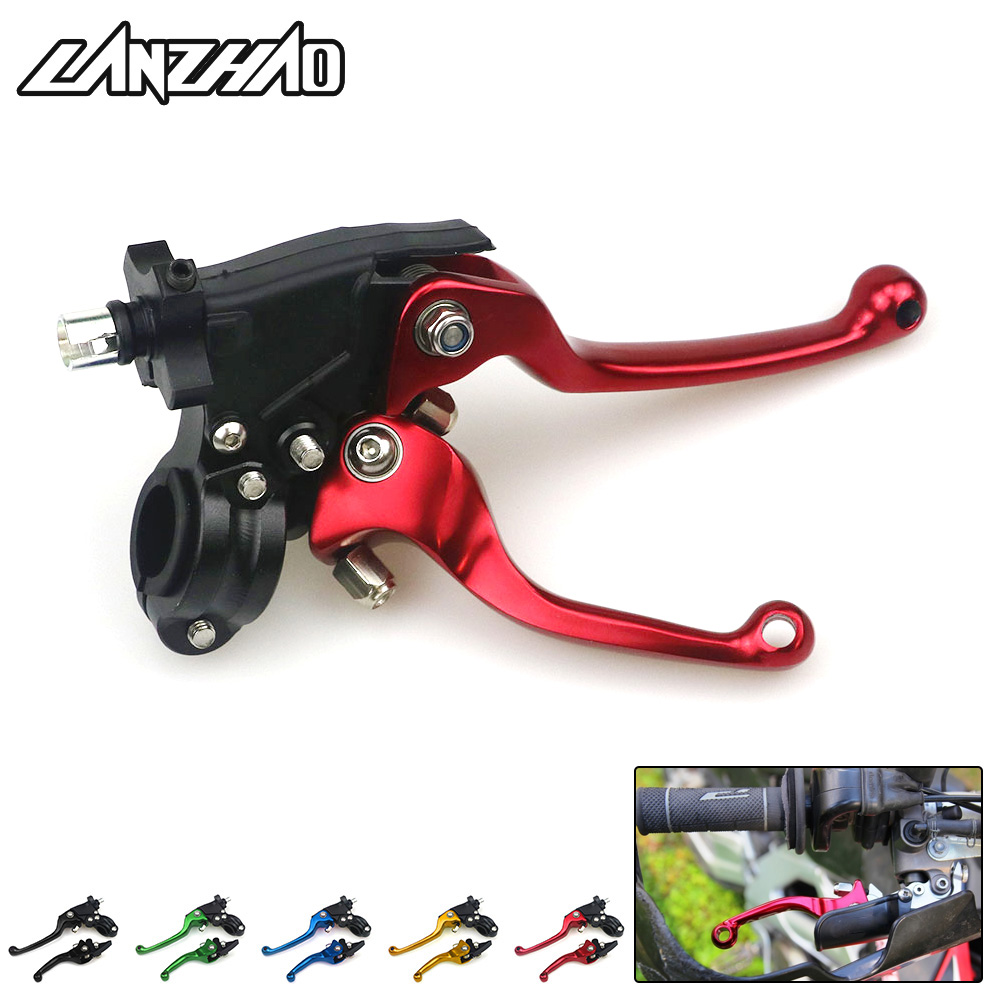 Motocross Brake Clutch Levers 22mm Racing Accessories For HONDA CRF450X CRF450R CRF50F CRF150F CRF250X XR650L ASV F3 Series