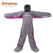 KingCamp śpiwór Śpiwór 170*65 Wygodne Humanoidalne leniwy torba zima plecakiem kemping Turystyczne Piesze Wycieczki na zewnątrz