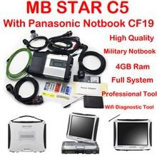 Новое поколение Мб Звезда C5 sd Соединиться С Panasonic CF19 Ноутбук mb диагноза звезды c5 Высокое Качество Быстрая доставка