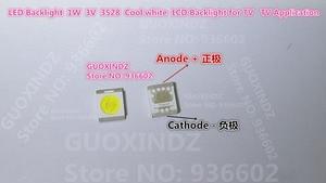 Image 1 - โซล LED Backlight 1210 3528 2835 1W 100LM Cool สีขาว SBWRT120E LCD Backlight สำหรับทีวีแอ็พพลิเคชันทีวี