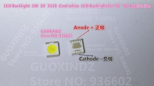 โซล LED Backlight 1210 3528 2835 1W 100LM Cool สีขาว SBWRT120E LCD Backlight สำหรับทีวีแอ็พพลิเคชันทีวี