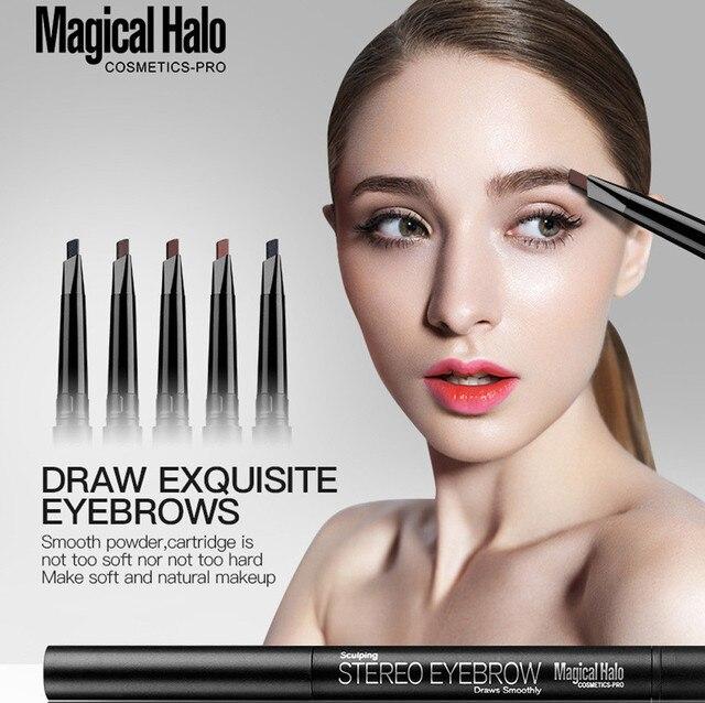 Magical Halo Waterproof Eye Brow Eyeliner Eyebrow Pen Pencil With