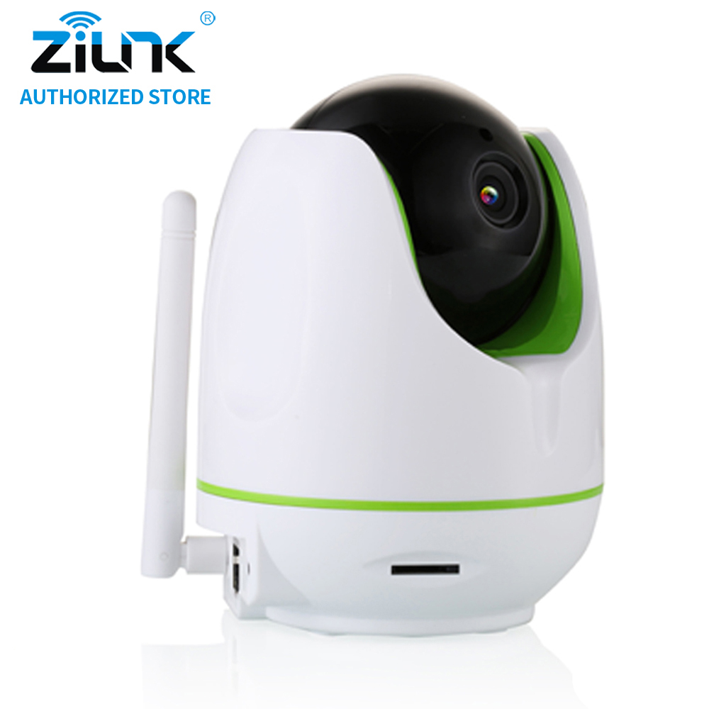 ZILNK 1080P Full HD Wireless IP Camera CCTV WiFi Home Surveillance Security Camera System with iOS/Android Pan Tilt White wireless wifi ios android control hd pan tilt networok ip camera with phone operate work with g90b