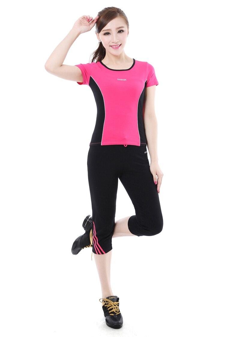 thin ladies elastic cotton lycra gym suit square dance costumes campaign  calisthenics suits on Aliexpress.com  cf8dad27e