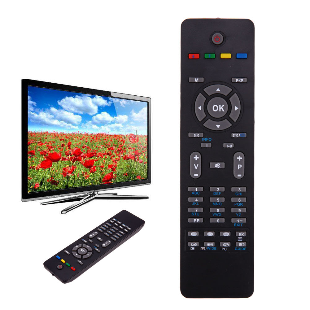7eac12744 TV Replacement Remote Control for TECHNIKA TV 26 32 37 40 42 HD READY LCD TV