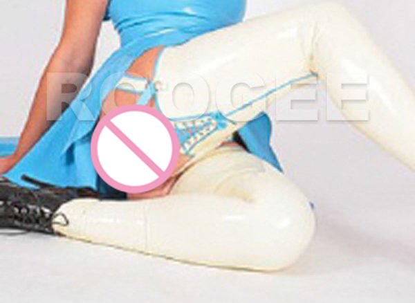 Novo estilo de meias de látex