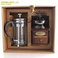 Ручная кофемолка кофейник французский горшок чашка для дома фасоли шлифовальный станок