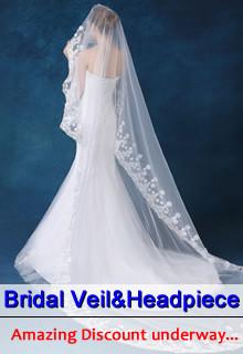 Bridal veil&headpiece