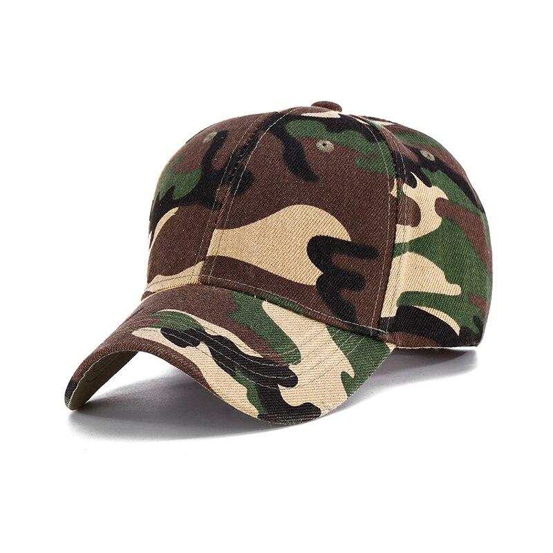 Prix pour De nouveaux Hommes Lavé Denim Soleil Armée Camo Baseball Coton Cap chapeaux pour Hommes Camouflage Cap Femmes Blanc Désert Camo chapeau