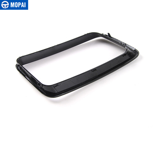 Image 5 - MOPAI ABS Car Interior Front Insert Racing Grilles Decoration Ring Cover Sticker for Jeep Grand Cherokee 2014 Up Car Styling