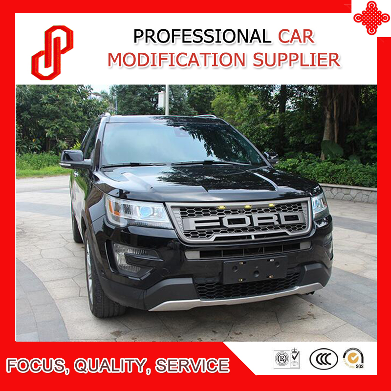 ABS Modified car racing grills grill Raptor Grille for Explorer Front grille 2016 2017 image