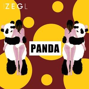 Image 3 - ZEGL tier halskette panda halskette frau anhänger schlüsselbein kette Chinesischen stil halskette hals kette