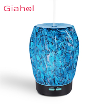 3D Marble LED Night Light Aromatherapy Essential Oil Diffuser 100ml Ultrasonic Aroma Diffuser Humidifier For Home Office 100ml ultrasonic aroma air humidifier colorful night light aromatherapy diffuser for home office spa essential oil diffuser