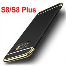 Fundas Для Samsung Galaxy S8 Case 5.8 «роскошные ПК Жесткий Задняя Крышка Case Для Samsung Galaxy S8 Плюс Крышка 6.2» телефон Case