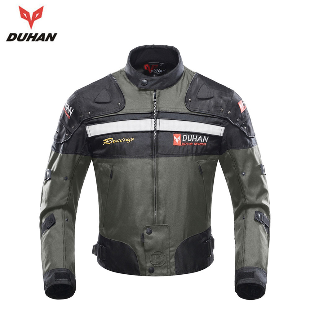 DUHAN Motorcycle Jackets Men Riding Motocross Off-Road Enduro Racing Jacket Moto Jacket Windproof Jaqueta Motoqueiro Clothing 2017motorcycle men s racing motocross jackets