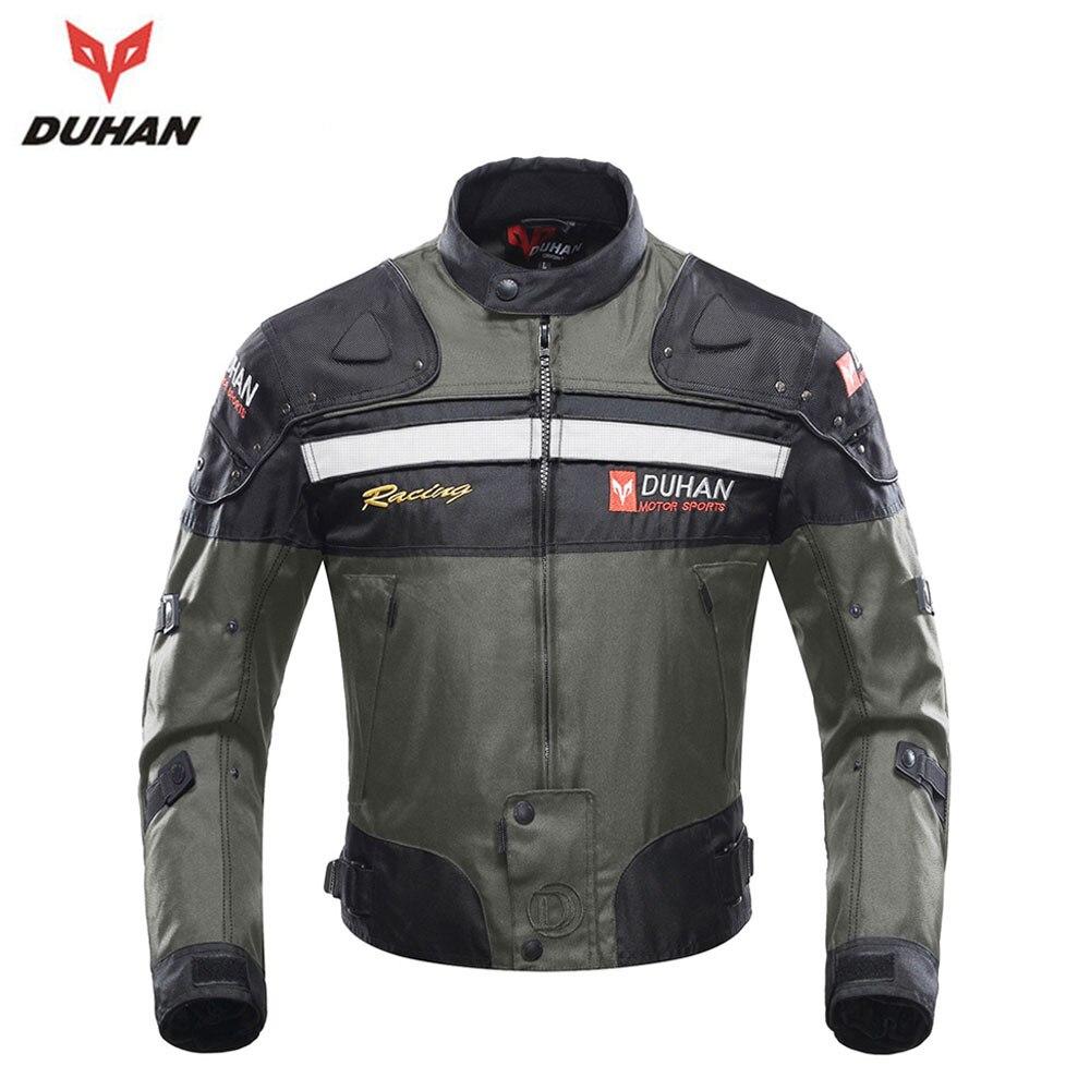 DUHAN Motorcycle Jackets Men Riding Motocross Off-Road Enduro Racing Jacket Moto Jacket Windproof Jaqueta Motoqueiro Clothing