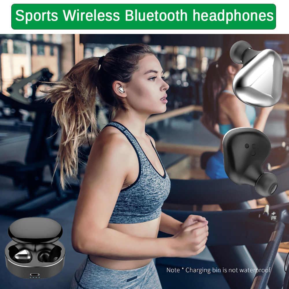 T50, беспроводные Bluetooth наушники, сенсорные, Bluetooth, Handsfree, управление басами, стерео, Eeadphones, вкладыши, управление AI, Bluetooth 5,0, гарнитура