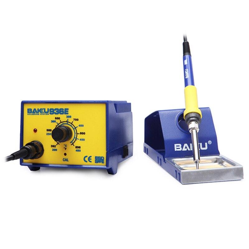 BK-936E mini desoldering station soldering iron, mobile phone digital industrial soldering station repair tool цена