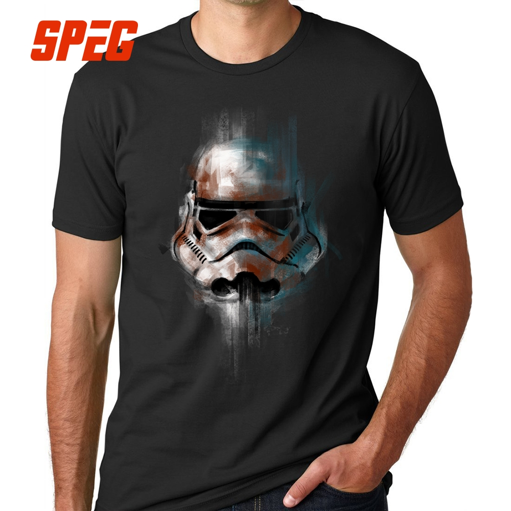 StarWars   T  -  Shirt   Man Star Wars   T     Shirt   Men Tops Imperial Stormtrooper Short Sleeve Cotton Luxury Brand Clothing Fitness Tees