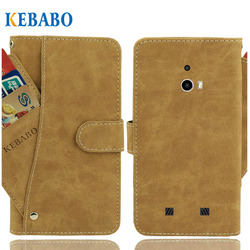 На Алиэкспресс купить чехол для смартфона vintage leather wallet vkworld vk7000 case 5.2дюйм. flip luxury 3 front card slots cover magnet stand phone protective bags