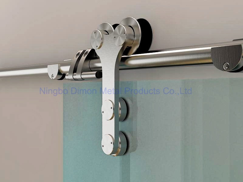 Dimon Stainless steel door hardware glass sliding door hardware America style door hardware DM-SDG 7003 without sliding track